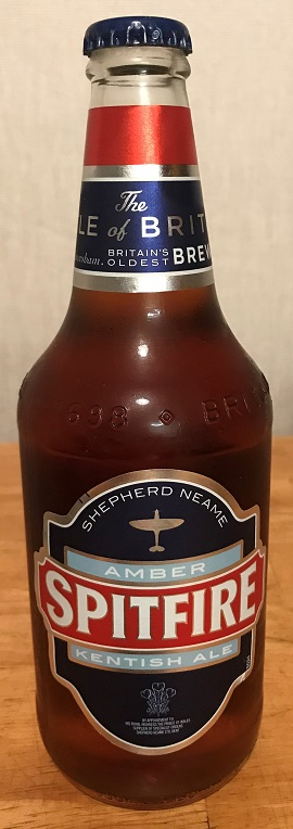 Spitfire beer bottle