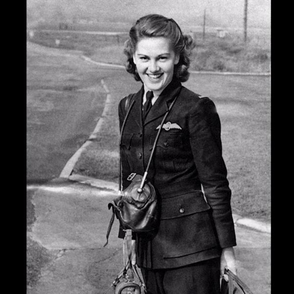 Joy Lofthouse in ATA uniform