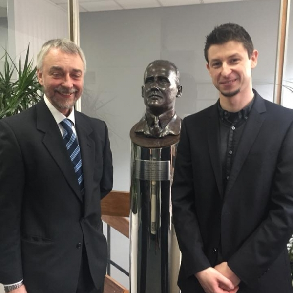 Vice-Chair Stephen Pearse & Dr Scott Walker