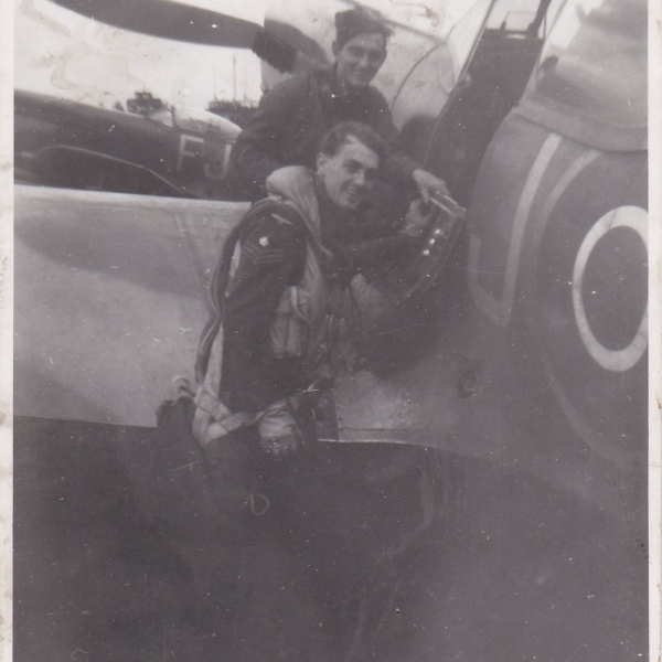 Gordon Spencer 610 Squadron RAuxAF