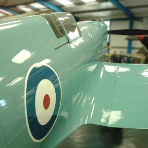 Spitfire Prototype K5054 replica
