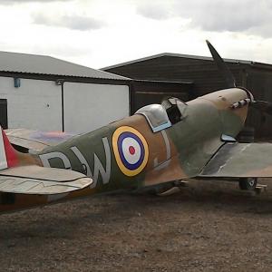 Dylan Jones Spitfire replica