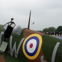 Dylan Jones Spitfire replica
